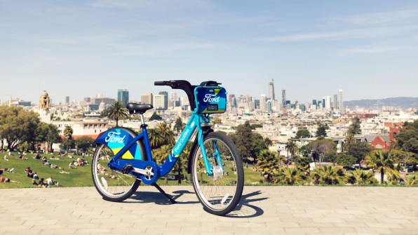 "The Bay Area's Expanding Bike Share Is Part Of Ford's Transition From Cars To ""Mobility"" 