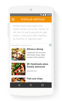 Google goes after mobile native advertising with new AdSense formats