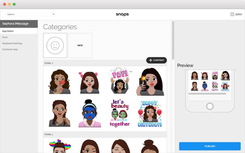 Snaps launches a Marketing Cloud for chatbots, messaging and emojis | DeviceDaily.com