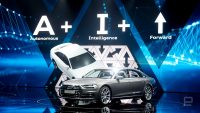 Audi introduces its semi-autonomous A8