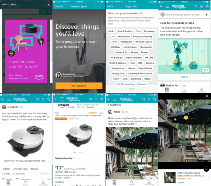 Amazon's new Spark social feed wants to be 'Instagram for products' | DeviceDaily.com