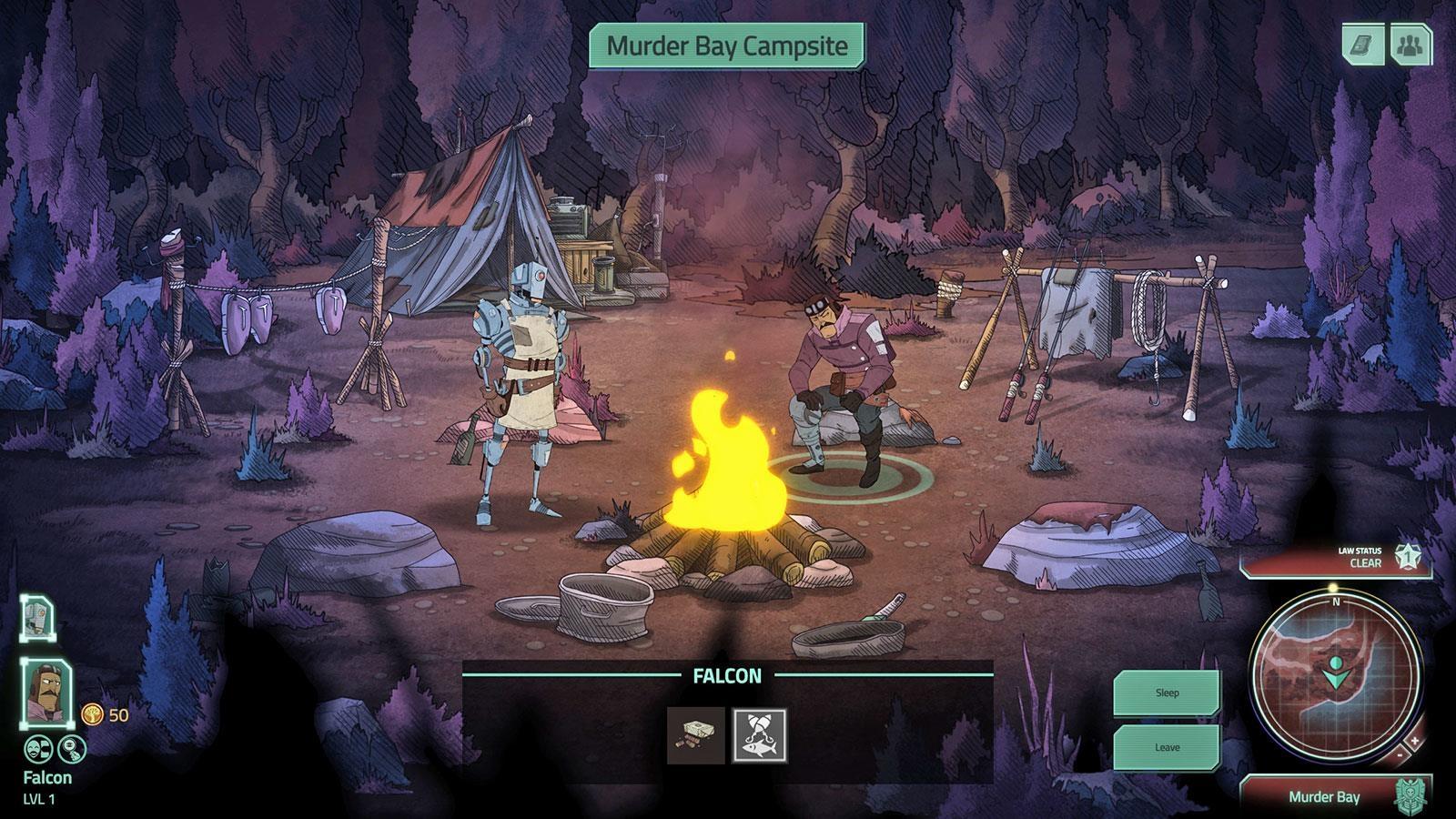 'Don't Starve' studio's sci-fi RPG looks like a gritty cartoon | DeviceDaily.com