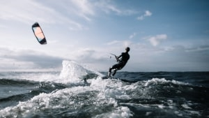 This Tech Exec's Secret To Life And Career Success? Kitesurfing