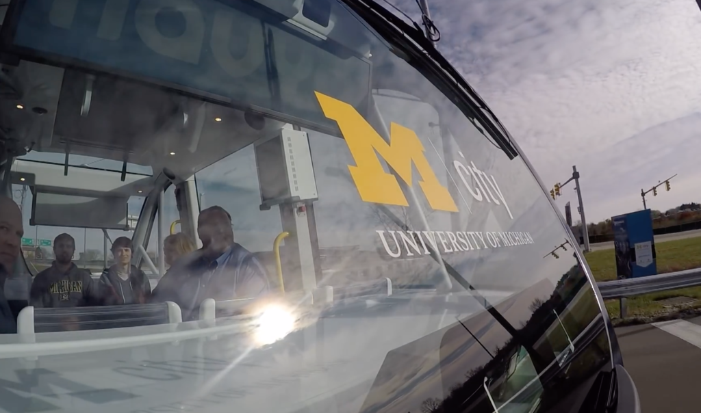 University of Michigan launches its own self-driving shuttle service | DeviceDaily.com