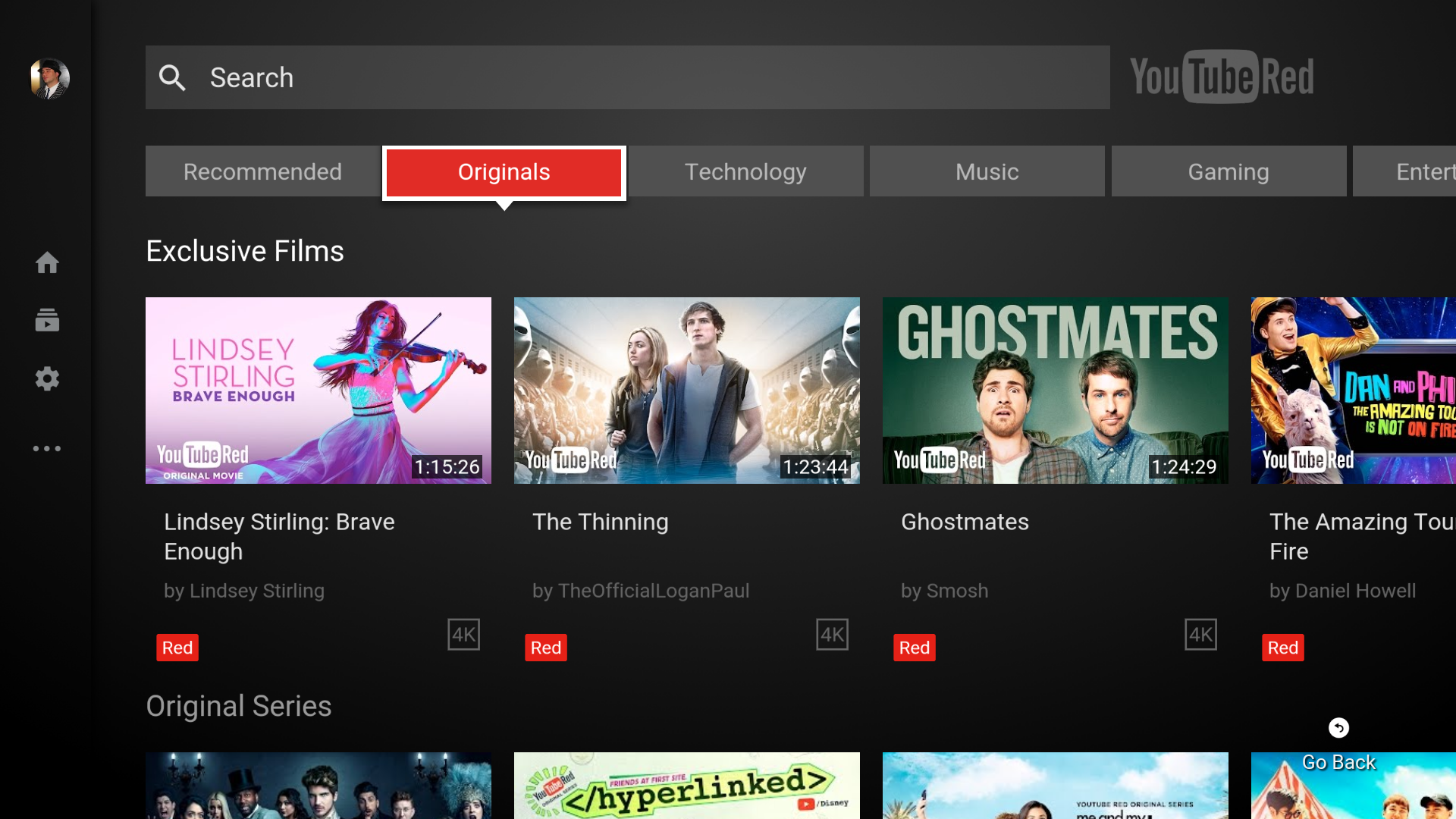 YouTube on Android TV plays catch-up with new design, auto-play