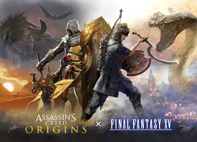 Assassin's Creed and Final Fantasy XV Collaboration Revealed at Gamescom | DeviceDaily.com