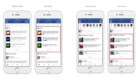 Facebook adds publishers' logos to links in search results, trending lists