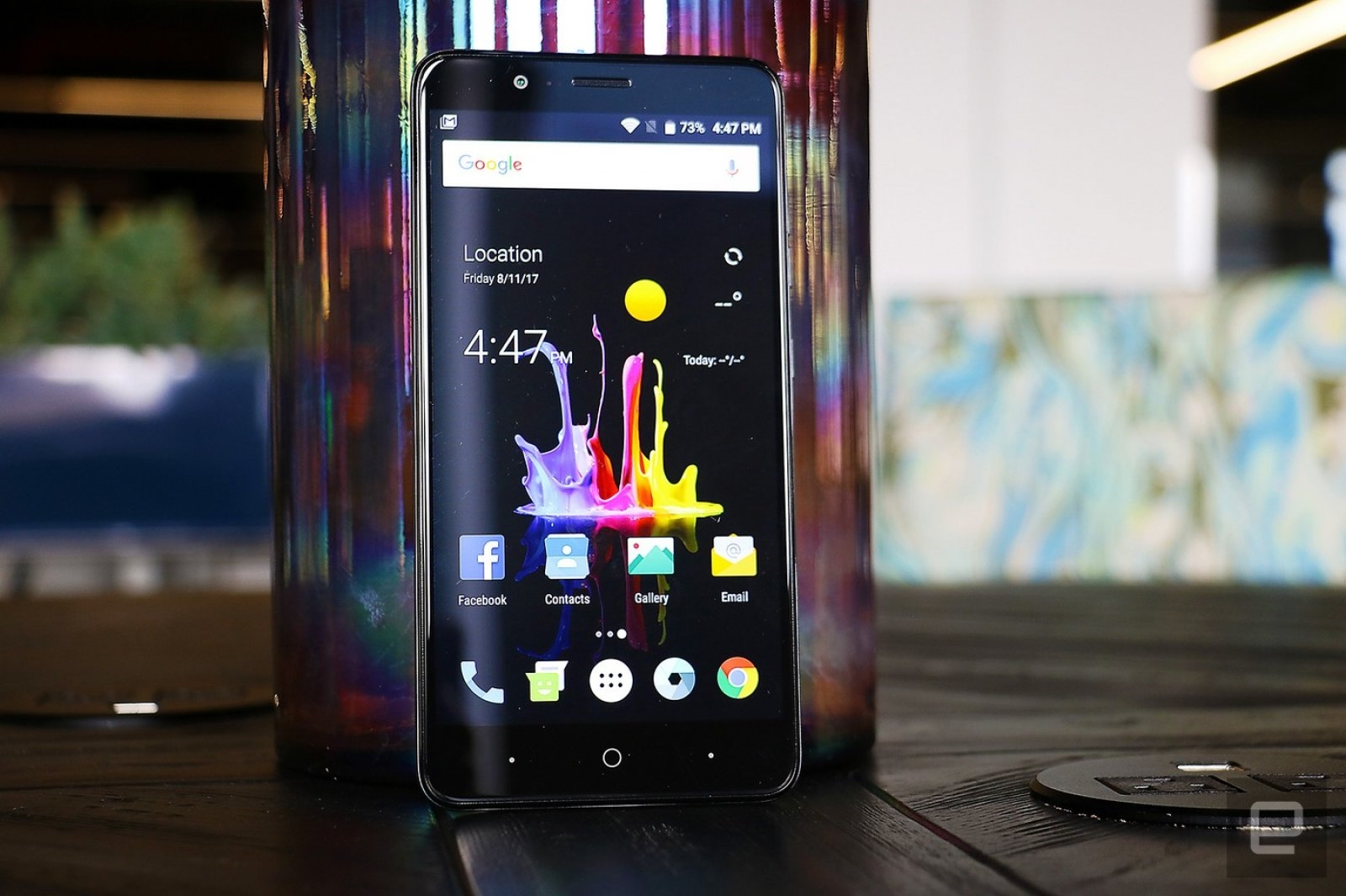 ZTE's latest big-screen phone packs dual cameras for $129   DeviceDaily.com
