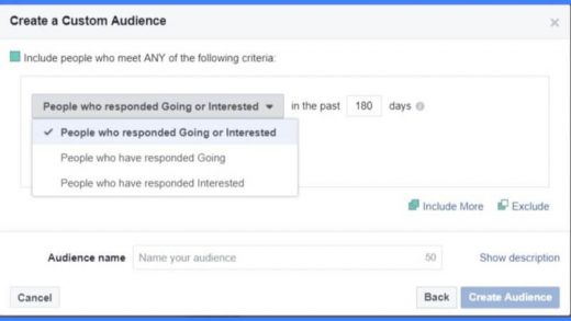Facebook will let brands target ads to people who RSVPed to their Pages' events