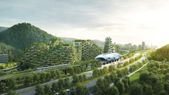 Inside China's Plan For A Massive Forest-Covered City | DeviceDaily.com
