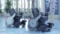 Autonomous wheelchairs arrive at Japanese airport