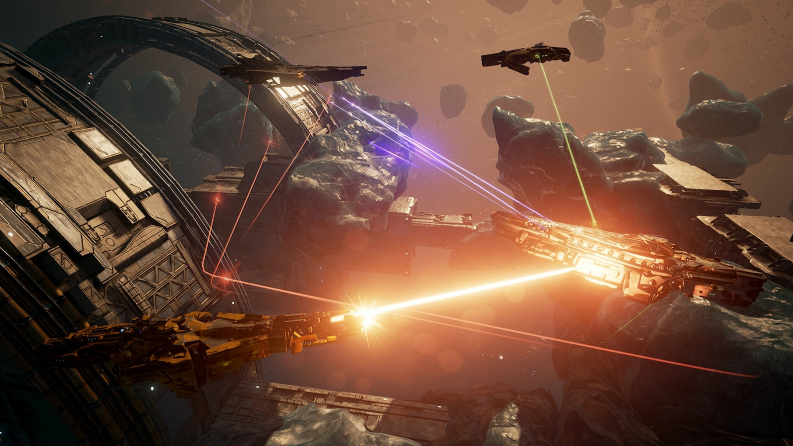 Command a spaceship fleet in the 'Dreadnought' PS4 open beta | DeviceDaily.com