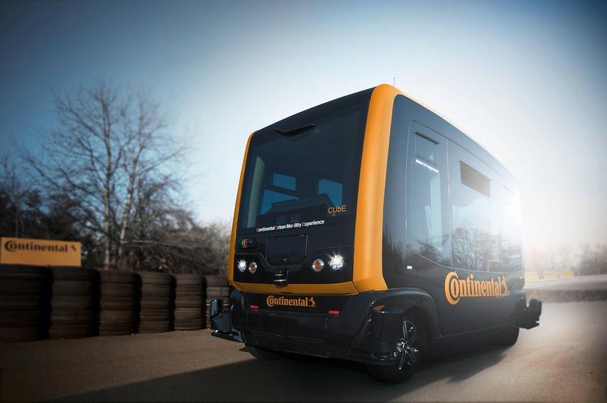 Frankfurt commuters may soon jump aboard self-driving shuttles   DeviceDaily.com