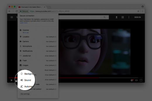 Google Chrome may soon have an option to keep websites muted