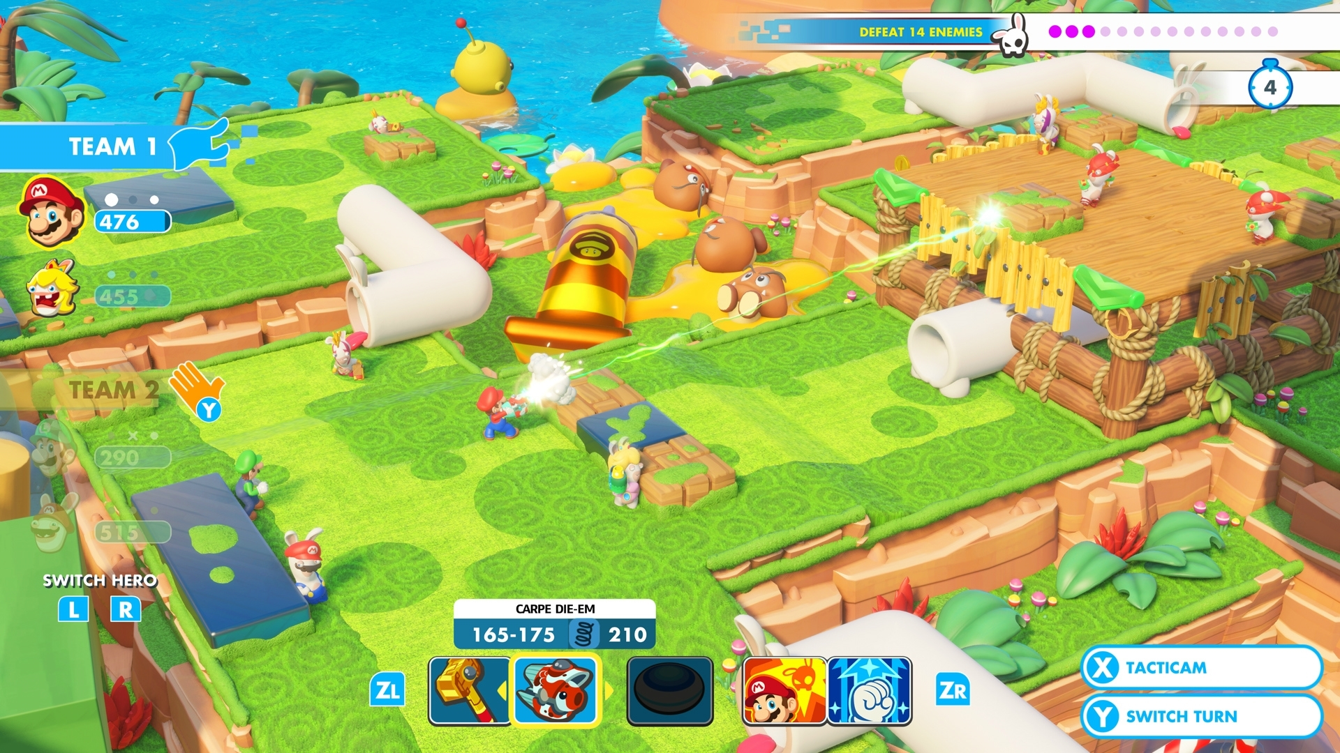 Mario + Rabbids Kingdom Battle – Co-op Challenges and Mischievous Boos | DeviceDaily.com