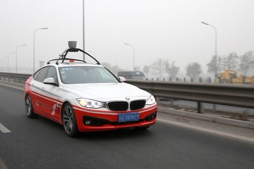 Microsoft to power Baidu's self-driving project outside of China