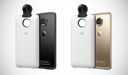 Motorola's newest Mod is this $300, 360-degree camera