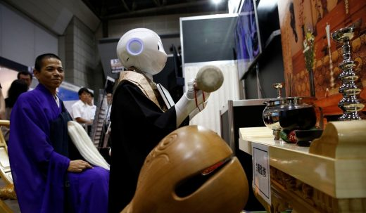 Now robots can tell everyone at your funeral how great you were