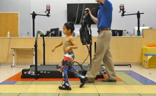 Robotic exoskeletons improve mobility for kids with cerebral palsy