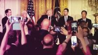 Trump Takes Victory Lap On Foxconn's Plans For New U.S. Factory