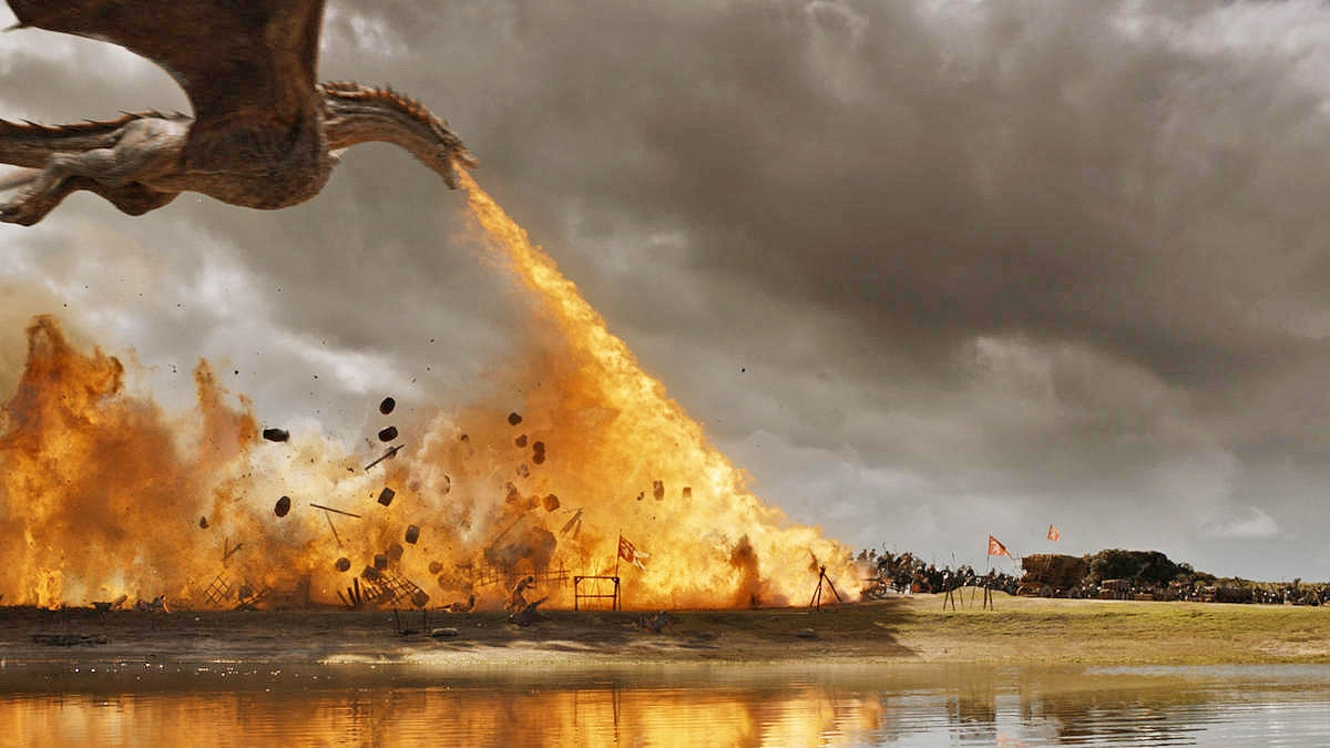 Watch the most impressive 'Game of Thrones' VFX reel yet | DeviceDaily.com