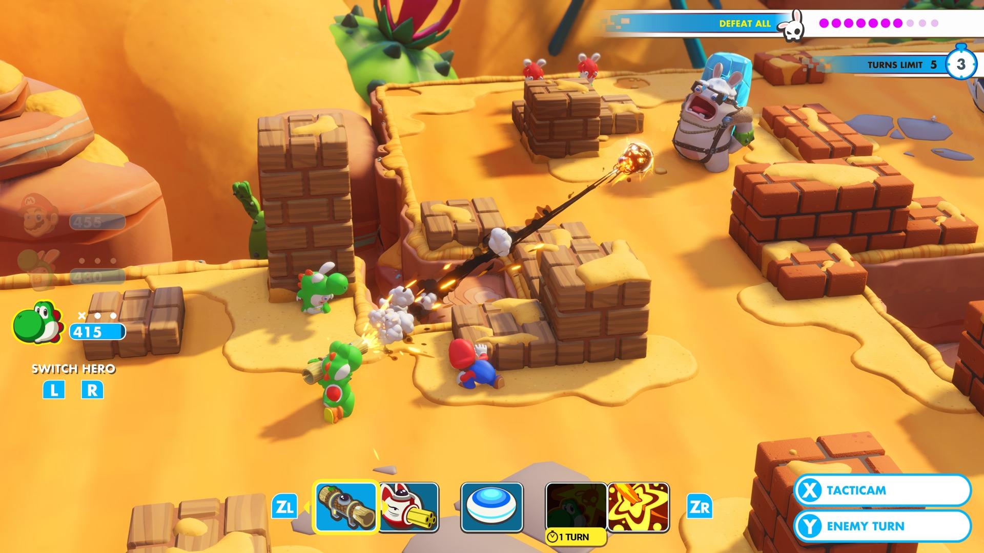 Mario + Rabbids Kingdom Battle – 5 Beginner Tips for Success | DeviceDaily.com