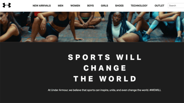 """Under Armour's New Campaign Declares """"Sports Will Change The World"""" 
