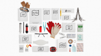 A well-designed disaster kit that has everything you need