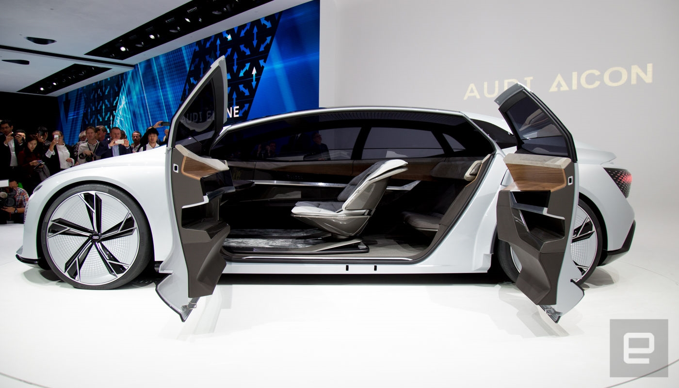 Audi's Aicon concept car is all about autonomous luxury | DeviceDaily.com