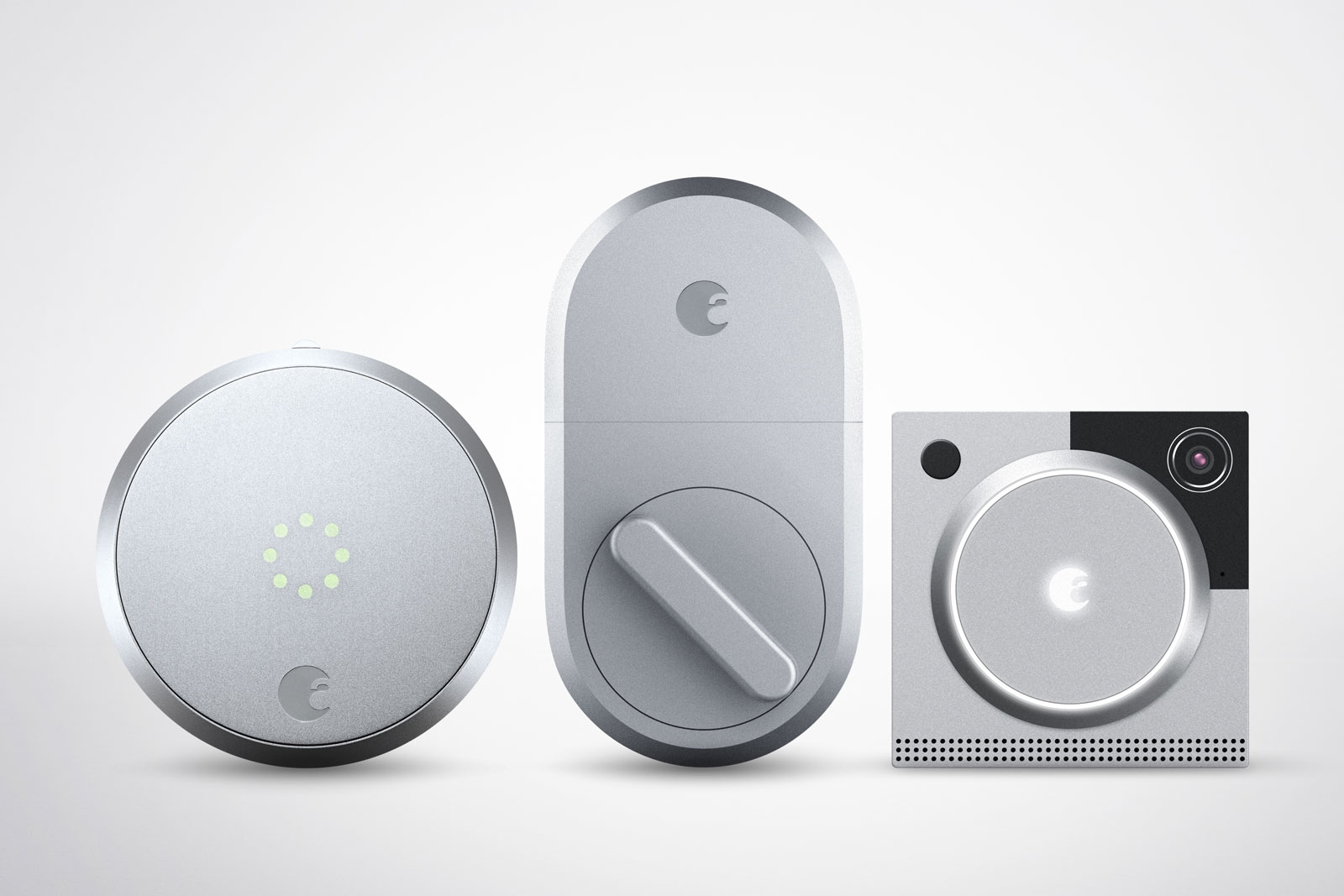 August's latest smart locks warn if you left the door open | DeviceDaily.com