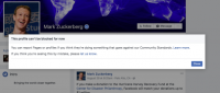 Here's why Facebook says you can't block Mark Zuckerberg or Priscilla Chan on Facebook right now