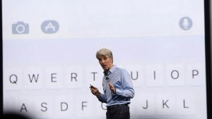 It's Only Logical That Apple Is Putting Its Software Guy In Charge Of Siri