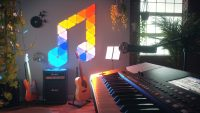 Nanoleaf delivers music syncing for its Aurora smart lights