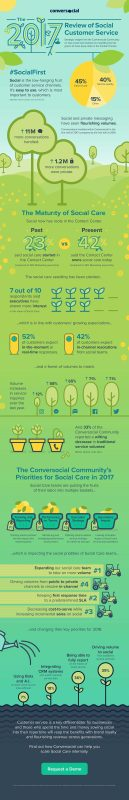 The Review of Social Customer Service [Infographic]