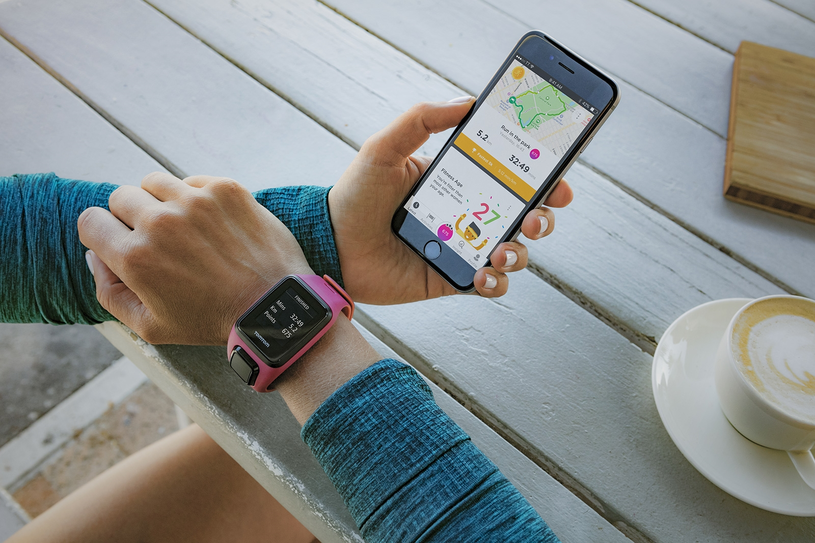 TomTom watches push you to roll back your 'fitness age' | DeviceDaily.com