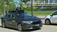 Uber looked into partnering with automaker for self-driving project