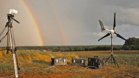 Wind energy mines digital cash to support climate research