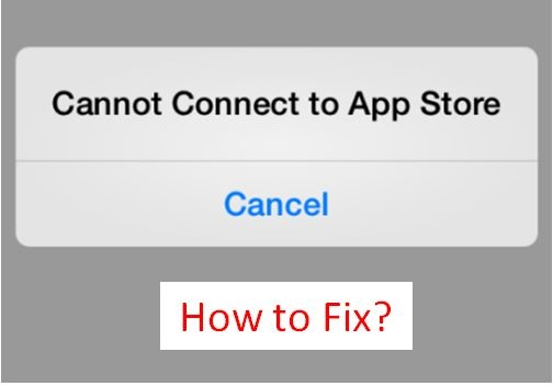 3 Ways to Fix 'Cannot Connect to App Store' on iPhone / iPad [How-To] | DeviceDaily.com