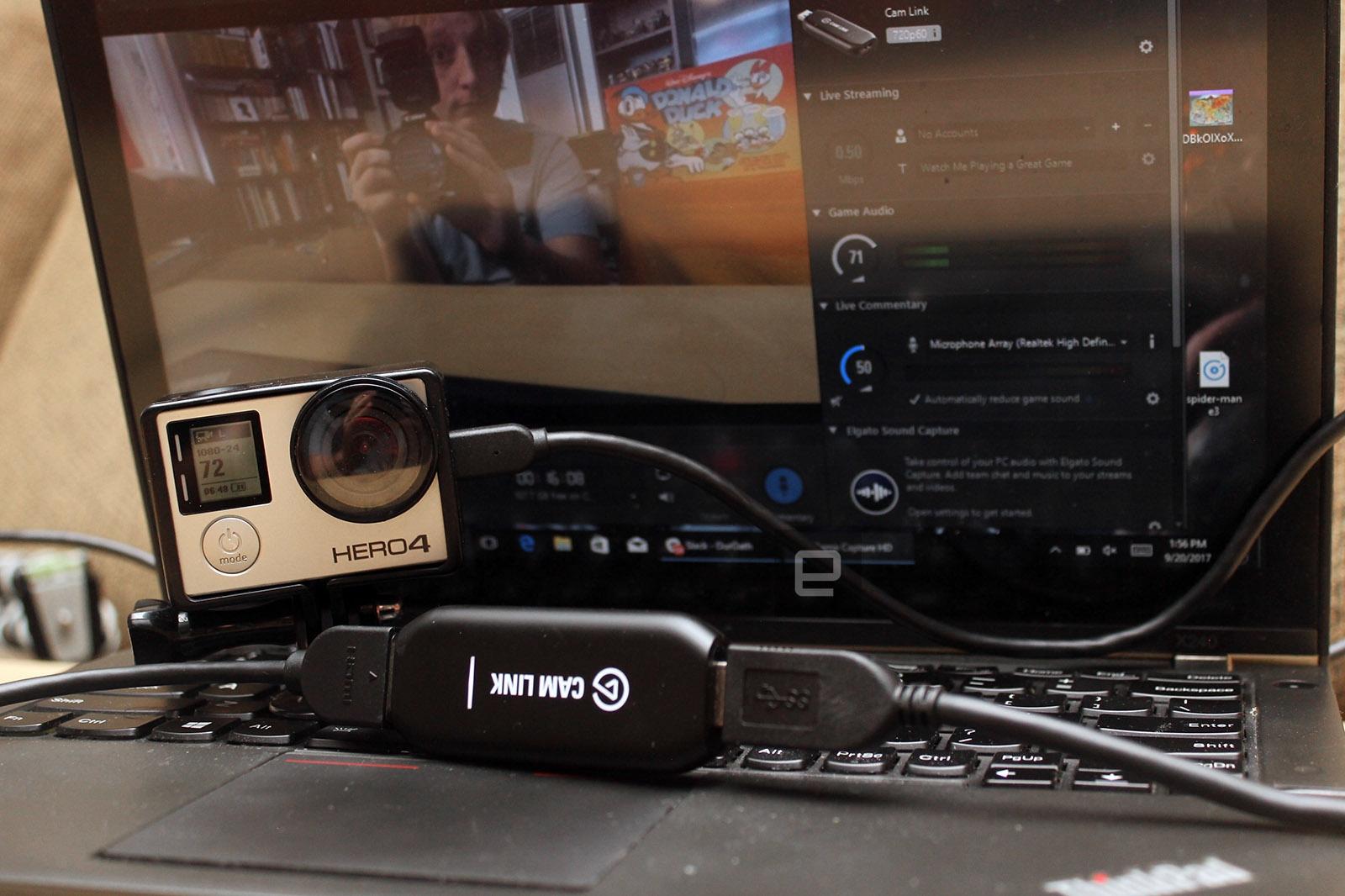 Elgato's Cam Link turns your DSLR into a souped-up webcam | DeviceDaily.com