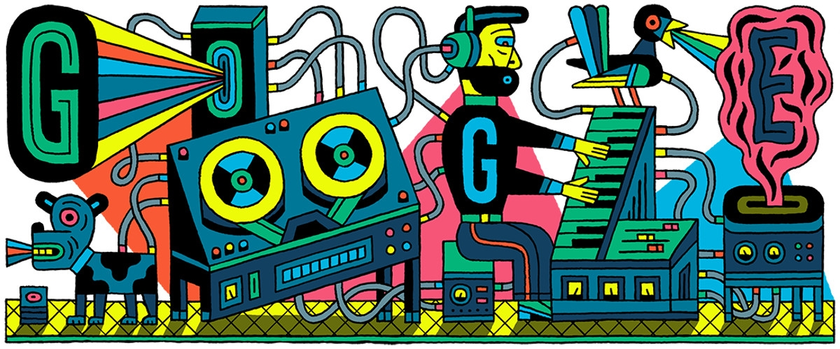 Google Doodle honors the first modern recording studio | DeviceDaily.com