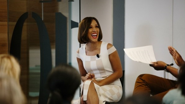 """The """"Reckless Confidence"""" Of """"The Rundown"""" Host Robin Thede 