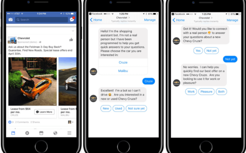 How Valassis used bots on Facebook Messenger to drive offlline auto sales | DeviceDaily.com