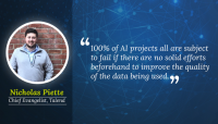 Enterprise AI needs high data quality to succeed