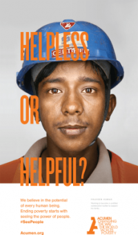 This New Ad Campaign Shows The Faces Of Global Poverty–And Opportunity