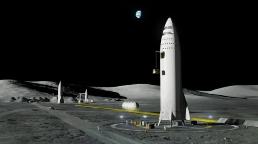 Here are some cool images of Elon Musk's BFR rocket concept