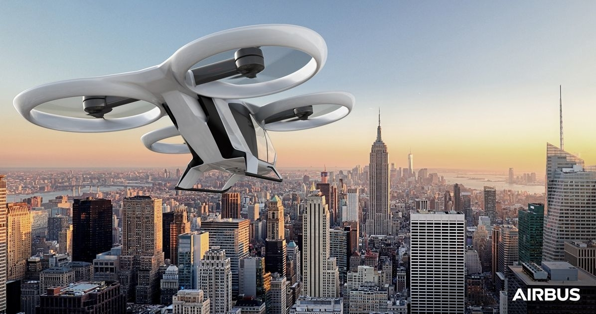 Airbus flying taxi concept on track to make first flight in 2018 | DeviceDaily.com