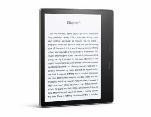 For its 10th anniversary, Amazon's Kindle tries a larger screen size