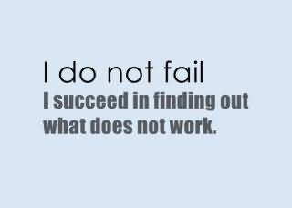 Google: Fail To Succeed