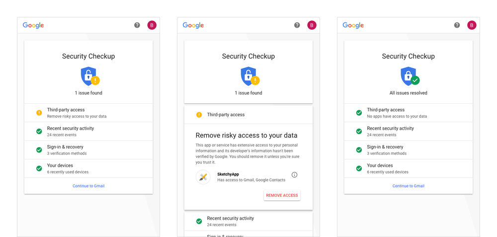 Google's refined Security Checkup identifies account vulnerabilities | DeviceDaily.com