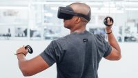 Here's what the prototype of Oculus's new Santa Cruz headset is like
